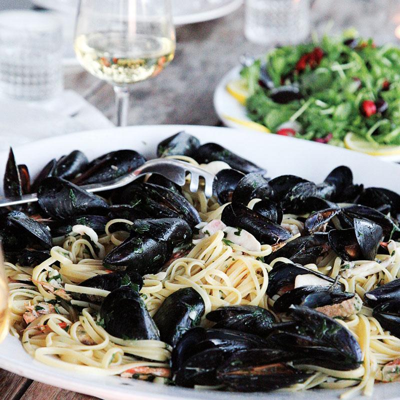 Colletto villas sea food pasta